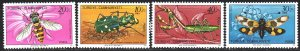 Turkey. 1981. 2584-87. Insects, fauna. MNH.