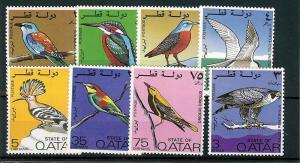 Qatar, 279-86, Birds Singles,**MNH**