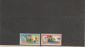 FAROE ISLANDS 282-283 MNH 2014 SCOTT CATALOGUE VALUE $3.70