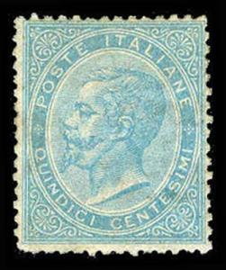ITALY-d-a-1862-1928 ISSUES (to 196) 29  Mint (ID # 73422)