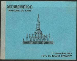 Laos 99a 1964 Women s.s. Folder NH