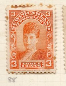 Newfoundland 1897-1918 Early Issue Fine Mint Hinged 3c. 259982