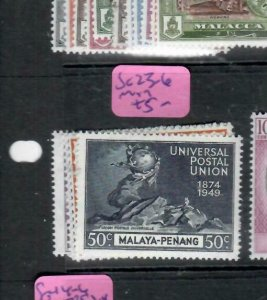 MALAYA  PENANG  (PP1606B)  KGVI   UPU    SG 23-26   MOG