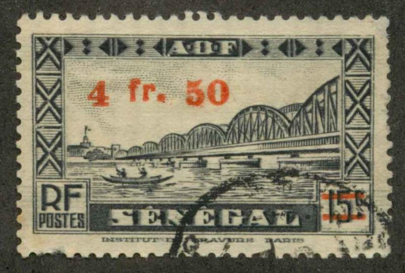 French West Africa 9 Used VF