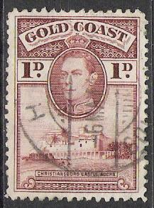 Gold Coast #116 KG VI & Christiansborg Castle Used