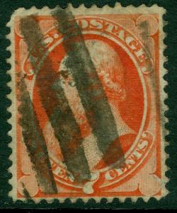 EDW1949SELL : USA 1871 Scott #149 Used. Small faults. Catalog $90.00.