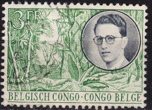 BELG. KONGO [1955] MiNr 0323 ( O/used )
