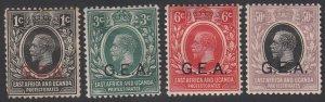 German East Africa N106//N113 MH Short Set CV $3.25