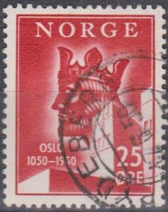 Norway #305 F-VF Used (B6779)