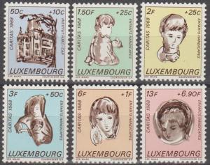 Luxembourg #B264-9  MNH F-VF CV $3.10 (SU1367)