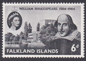 Falkland Islands Sc #149 Mint Hinged; Mi #144