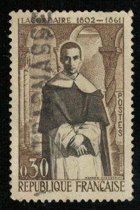 1961, Father Lacordair, France, 0,30 c, YT #1287 (Т-8215)