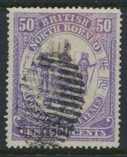 North Borneo  SG 46 Used    please see scans & details