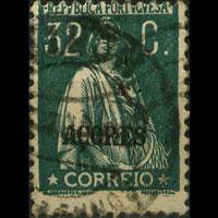 AZORES 1925 - Scott# 199 Ceres 32c Used