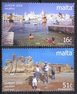 Malta Sc# 1162-1163 MNH 2004 Europa