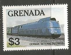 GRENADA 1125 MNH LOCOMOTIVE T115