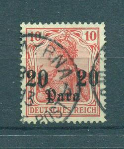 Germany Offices in Turkey sc# 44 (2) used cat value $.90