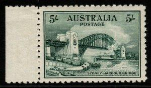 AUSTRALIA SG143 1932 5/= BLUE-GREEN MTD MINT