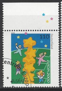 Germany Bund Scott # 2086, used