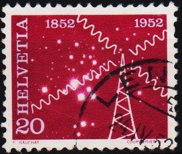 Switzerland. 1952 20c S.G.534 Fine Used