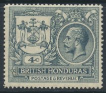 British Honduras SG 121 SC # 89 MH Peace issue  Peace omitted see scans and d...