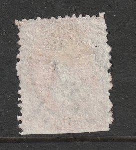New Zealand a used 4d deep rose?? QV FFW large star wmk.