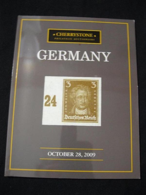 CHERRYSTONE AUCTION CATALOGUE 2009 GERMANY