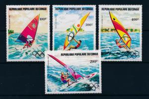 [55368] Congo Brazzaville 1983 Olympic games Wind surfing MNH