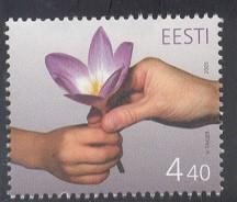 Estonia Sc 510 2005 Mothers Day stamp mint NH