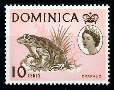 [65724] Dominica 1963 Frog From Set MLH