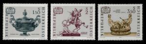 Austria 890-2 MNH Art Treasures