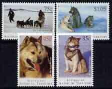 Australian Antarctic Territory 1994 Departure of Huskies ...