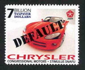 Chrysler Default Snafu Political Parody - MNH - Cinderella