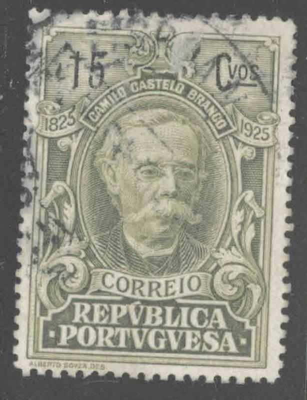 Portugal  Scott 353 Used from 1925 Branco set
