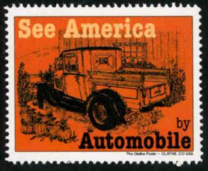See America by Automobile #4 - Artistamp - Cinderella - MNH