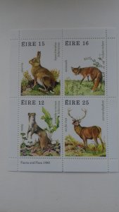 Ireland 1980 Game Animals Mint
