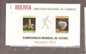 Bolivia A/M Cactus SC C553a+b MNH (14cem)