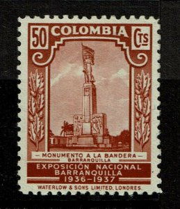 Colombia SC# 450, Mint Hinged, Hinge/Mount Remnants - S10283