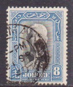 Malaya-Johore  #127  used/HR  (1940)  c.v. $1.35