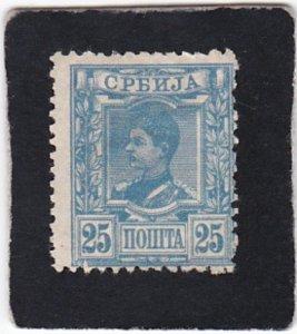Serbia,  #  37   used