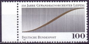 Germany. 1993. 1654. Orchestra in Leipzig. MNH.