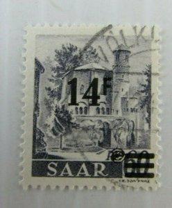 Saar SCOTT #185 CDS used stamp