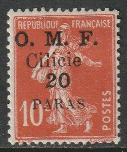 Cilicia 1920 Sc 100 MH some DG