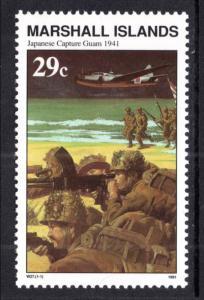 Marshall Islands #292 MNH CV$0.60 WWII