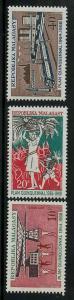 Malagasy Republic 410-412 Mint VF LH