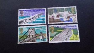 Great Britain 1968 Bridges  Mint