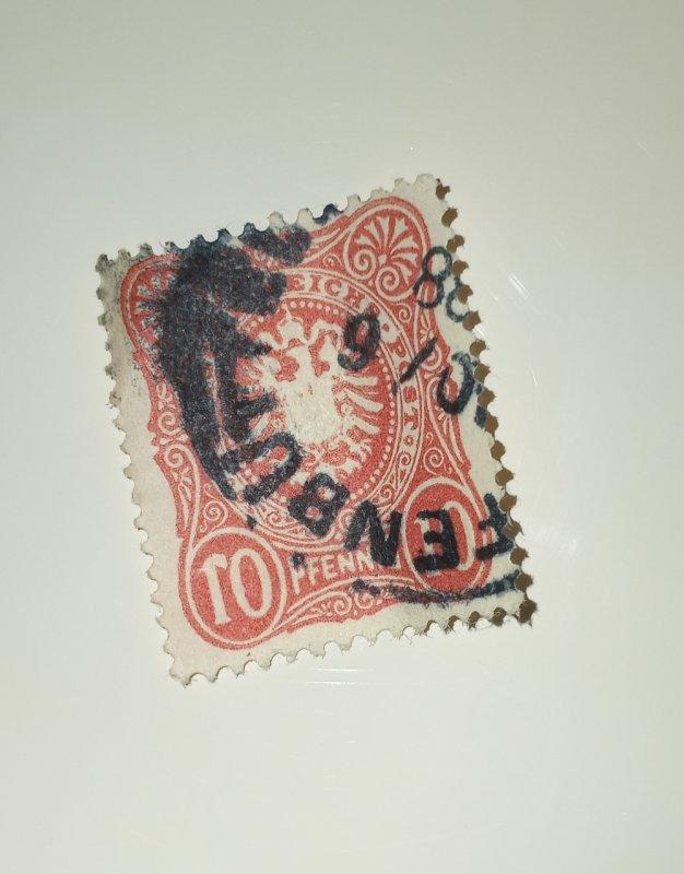 Pfennig design ERROR  10pf