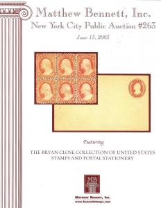The Bryan Close Collection of United States Stamps and Po...