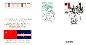 China, Cape Verde