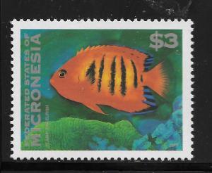 MICRONESIA, 225, MNH, FLAME ANGELFISH